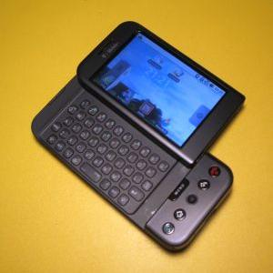 My HTC Dream / Android G1, reassembled