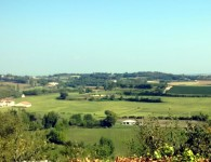 The Po Valley from Cavriana