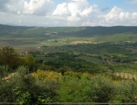 A Tuscan view from Masso Marittima