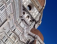 The exterion of the great dome at the Duomo, Firenze