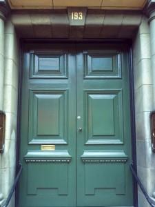 Dunedin doorway