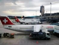 Planes at Zurich